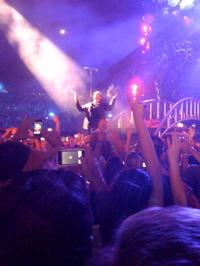 U2 at the Rosebowl 2009